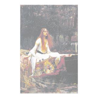 John William Waterhouse The Lady Of Shalott Customized Stationery