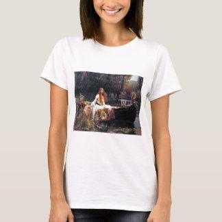 John William Waterhouse The Lady Of Shalott T-Shirt