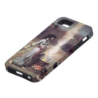 John William Waterhouse- The Magic Circle iPhone 5/5S Case