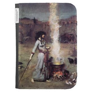 John William Waterhouse- The Magic Circle Kindle 3G Cases