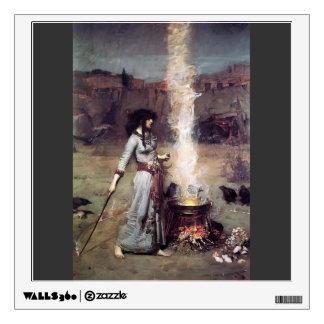 John William Waterhouse- The Magic Circle Room Graphic