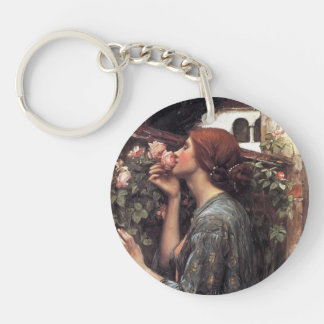 John William Waterhouse- The Soul of the Rose Key Chain