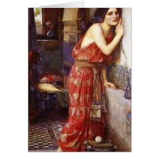 John William Waterhouse: Thisbe Card