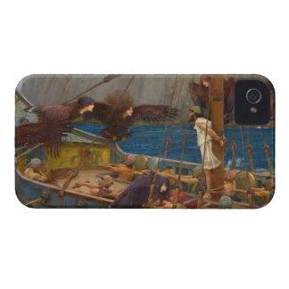 John William Waterhouse - Ulises y las sirenas Case-Mate iPhone 4 Funda