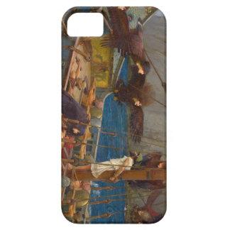 John William Waterhouse - Ulises y las sirenas iPhone 5 Case-Mate Cárcasas