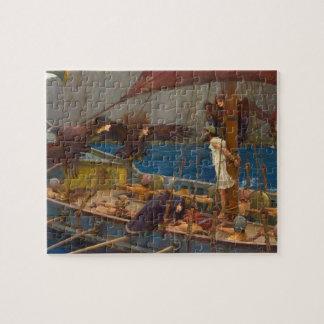 John William Waterhouse - Ulises y las sirenas Puzzle