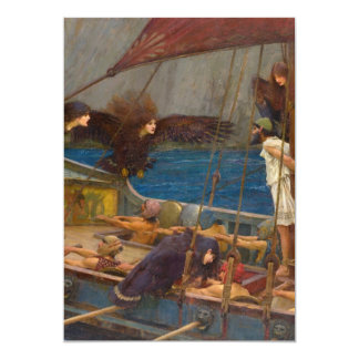 John William Waterhouse - Ulysses and the Sirens Card
