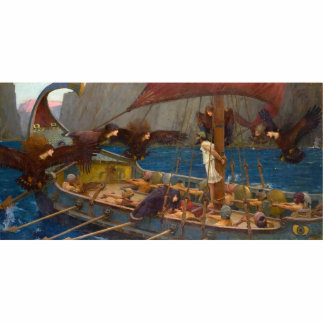 John William Waterhouse - Ulysses and the Sirens Cutout