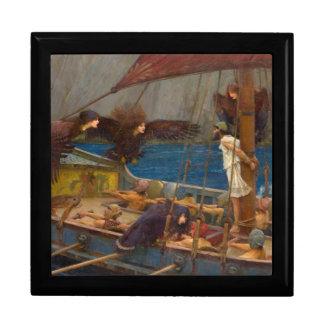 John William Waterhouse - Ulysses and the Sirens Jewelry Box