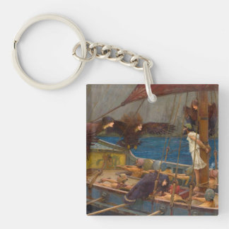 John William Waterhouse - Ulysses and the Sirens Keychain