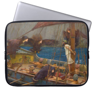 John William Waterhouse - Ulysses and the Sirens Laptop Sleeves