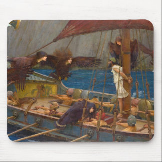 John William Waterhouse - Ulysses and the Sirens Mouse Pad