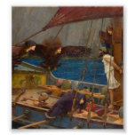 John William Waterhouse - Ulysses and the Sirens Poster