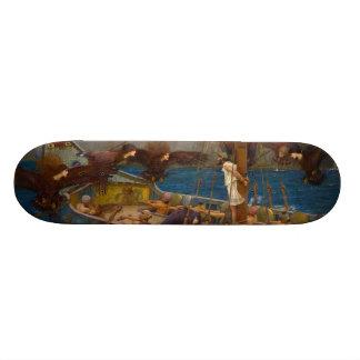 John William Waterhouse - Ulysses and the Sirens Skateboard Decks
