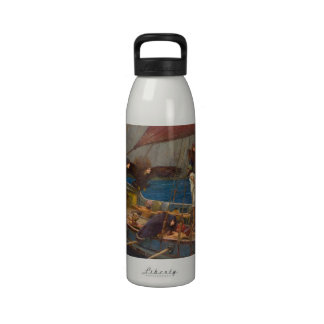 John William Waterhouse - Ulysses and the Sirens Reusable Water Bottle