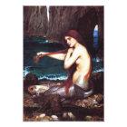 John William Waterhouse Vintage Mermaid Print