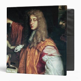 John Wilmot  2nd Earl of Rochester, c.1675 3 Ring Binder