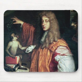 John Wilmot  2nd Earl of Rochester, c.1675 Mousepad