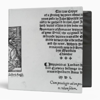John Wycliffe Binder
