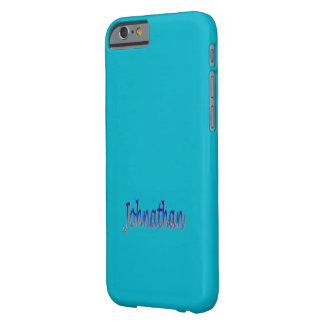 Johnathan Case-Mate Barely There iPhone Case