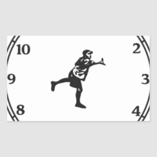 JohnE McCray's It's About Time Tour Rectangular Sticker