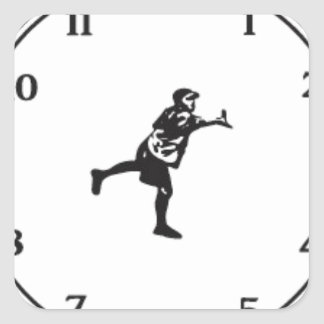 JohnE McCray's It's About Time Tour Square Sticker