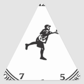 JohnE McCray's It's About Time Tour Triangle Sticker