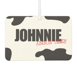"Johnnie ""Angus Beef"" Trendy Air Freshener"
