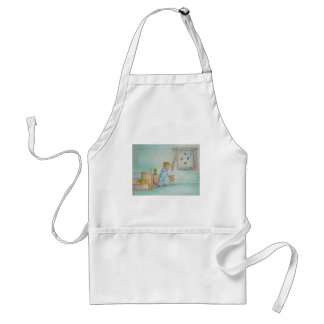 Johnny and fireflies adult apron