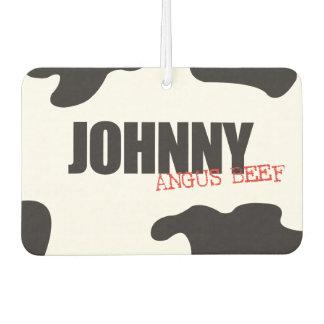 "Johnny ""Angus Beef"" Trendy Air Freshener"
