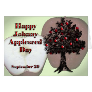 Johnny Appleseed Day Card September 26