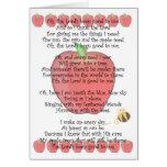 Johnny Appleseed día 26 de septiembre Tarjeta De Felicitación