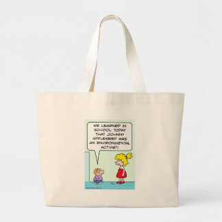 johnny appleseed environmental activist bags