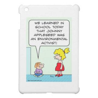 johnny appleseed environmental activist iPad mini case