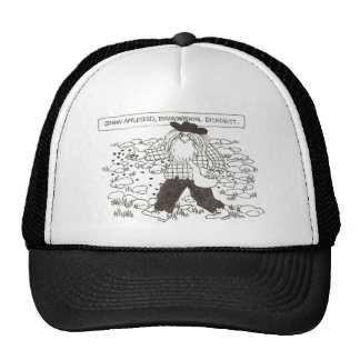 Johnny Appleseed environmental extremist Hats