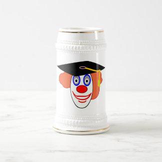 Johnny Automatic Clown Cartoon Beer Stein
