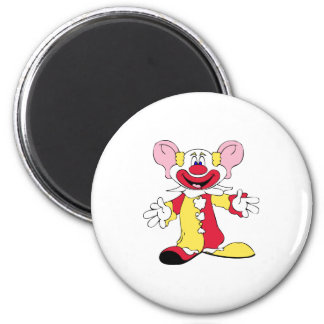 Johnny Automatic Clown Cartoon Magnet