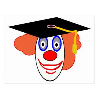 Johnny Automatic Clown Cartoon Postcard
