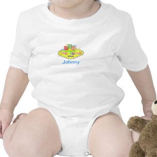 Johnny Born In Fabulous Las Vegas Shirt Baby