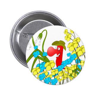 Johnny Condom Covered Button