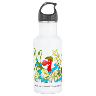 Johnny Condom Covered Stainless Steel Water Bottle