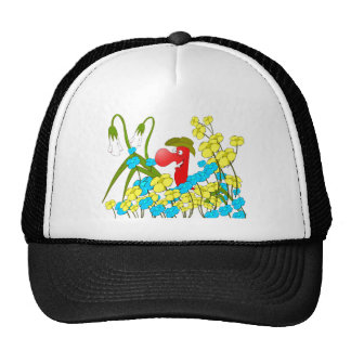 Johnny Condom Covered Trucker Hat
