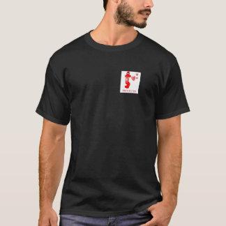 Johnny Condom Protected Hearts T-Shirt
