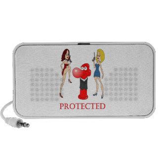 Johnny Condom Protected iPod Speaker
