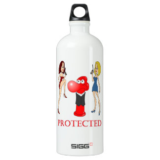 Johnny Condom Protected Water Bottle
