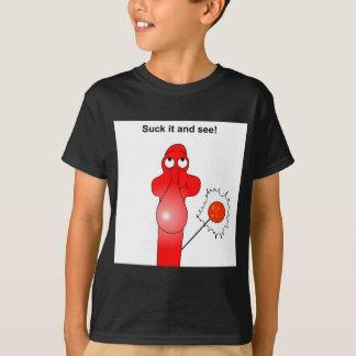 Johnny Condom Suck it T-Shirt