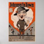 Johnny en ciudad poster
