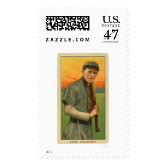 Johnny Evers Baseball Card 1911 Postage