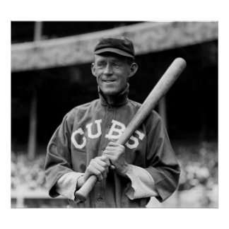 Johnny Evers, Chicago, 1913 Posters