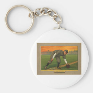 Johnny Evers Chicago Cubs 1911 Keychain